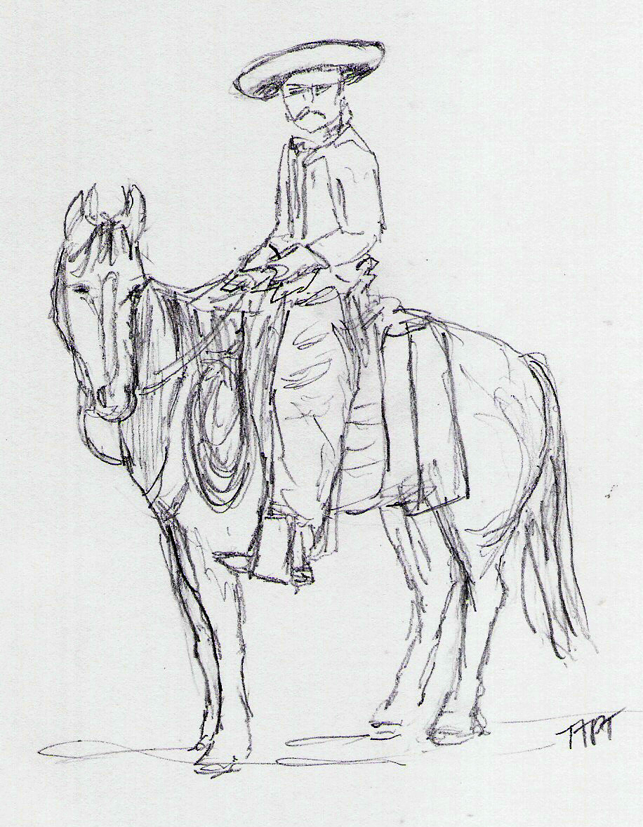 riding herd with a pencil