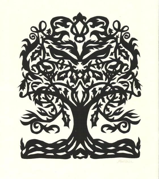 Silhouette of the Day:  Tree of Life