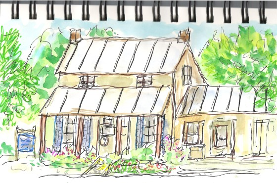 Farmhouse sketch2