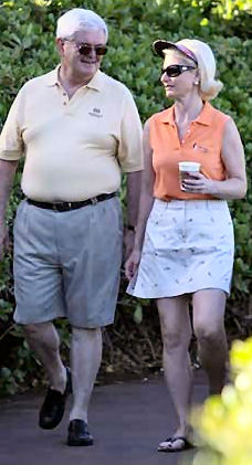 Image result for newt gingrich fat