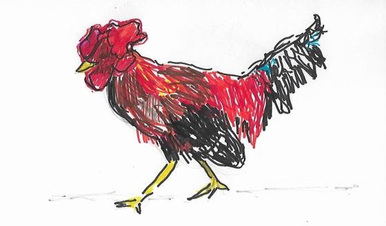 funky chicken